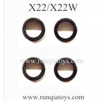 SYMA X22W drone Silica Gel Ring