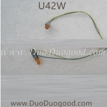 Udir/c U42W fpv Drone LED lights