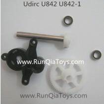 Udi U842 falcon quadcopter gear