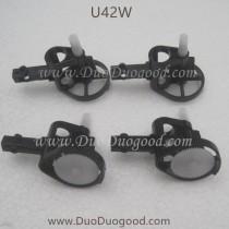 Udir/c U42W fpv Drone gear with motor holder