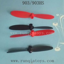 HELIWAY 903 903HS Drone Parts-Propellers Red