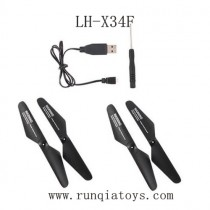 Lead Honor LH-X34F Parts-Propellers and Charger