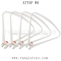 ATTOP W8 1080P GPS-Propellers Guards