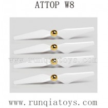 ATTOP W8 1080P GPS-Propellers with Cap