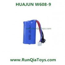 HUAJUN W608-9 Quad-copter battery