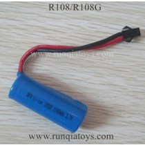 RunQia R108 R108G Helicopter Battery