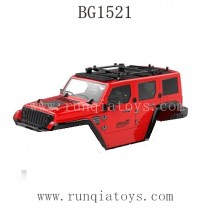 SUBOTECH BG1521 Car Body Shell Red
