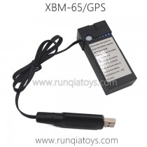 T-Smart XBM-65 GPS Drone Parts-Battery and Charger