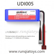 UDIR/C UDI005 Arrow boat Battery 2200mAh