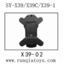 Song Yang Toys X39 Parts Under Body Shell X39-02