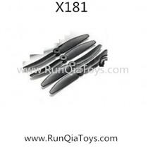 Xinlin shiye X181 Quadcopter blades