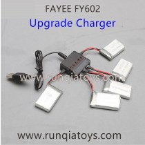 FAYEE FY602 Quadcopter Battery and Upgrade charger kits