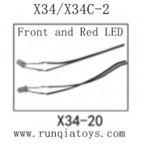 SONG YANG TOYS X34 Parts-LED
