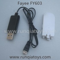 Fayee FY603 Battery Charger Parts white