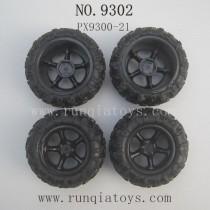 PXToys 9302 Parts Tires