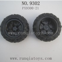 PXToys 9302 Parts Wheels