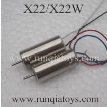 SYMA X22W drone Motor AB