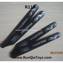 runqia toys R117 helicopter main blades