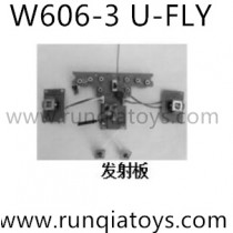 HUAJUN W606-3 Quadcopter Transmitter board