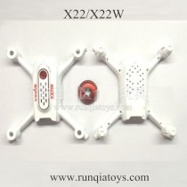 SYMA X22W drone Body shell white