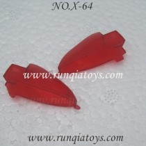 Xinxun no.x-64 quadcopter led cover