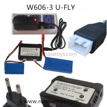 HUAJUN W606-3 u-fly Battery EU Charger