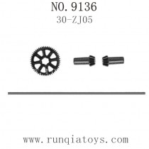 XINLEHONG TOYS 9136 Parts-Drive Shaft assembly