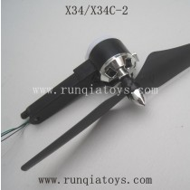 SONG YANG TOYS X34C-2 Parts-Motor A set