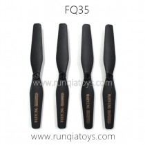 FQ777 FQ35 Drone Parts Propellers Black color