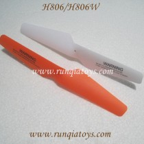 Helicute H806 H806W Hoverdrone propellers