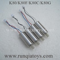 Kai Deng K80 Quadcopter Motor set