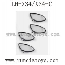 Lead Honor LH-X34 Parts Propellers Guards