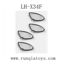 Lead Honor LH-X34F Parts-Propellers Guards