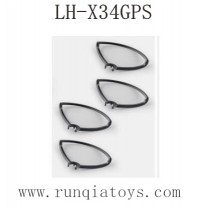 Lead Honor LH-X34 GPS Drone Parts-Propellers Guards