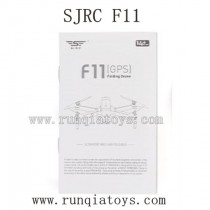 SJRC F11 Parts-Manual