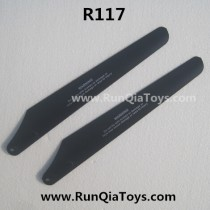 Runqia toys R117 helicopter main rotor A
