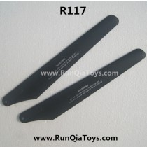 runqia toys R117 helicopter main propeller B