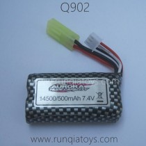 XINLEHONG Q902 Parts-7.4V 500mAh Battery