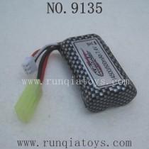 XINLEHONG 9135 Parts-Battery 7.4V 500mAh