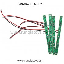 HUAJUN W606-3 u-fly LED Board