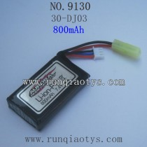XINLEHONG Toys 9130 parts-Battery 800mAh upgrade