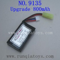 XINLEHONG 9135 Upgrade Parts-Battery 7.4V 800mAh 30-DJ03