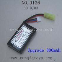 XINLEHONG TOYS 9136 Upgrade Parts-Battery
