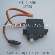 HBX 12895 Car parts-Servo-for switching running speed 12735