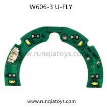 HUAJUN W606-3 u-fly lug board