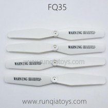 FQ777 FQ35 Drone Parts Propellers White color