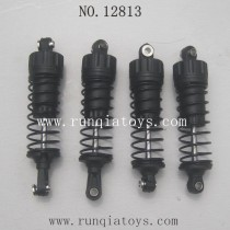 HBX 12813 survivor MT parts-Shocks Complete
