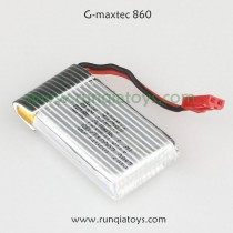 G-maxtec 860 quadcopter battery