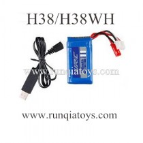 JJRC H38WH quadcopter battery and charger