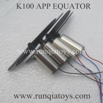 Kai Deng K100 Drone Main Blades and motor parts